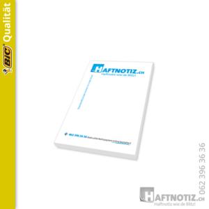 Haftnotiz.ch - Bedruckte Haftnotizen 50 x 75 mm