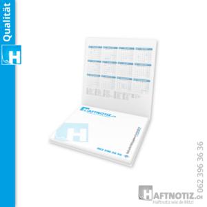 Haftnotiz Postit Büchlein Druck mit Umschlag