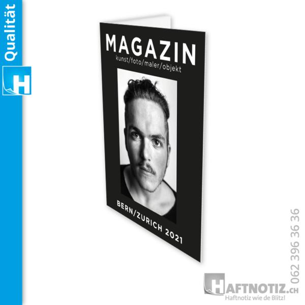 Buch Büchlein Booklet mit Haftnotiz Papier und Druck