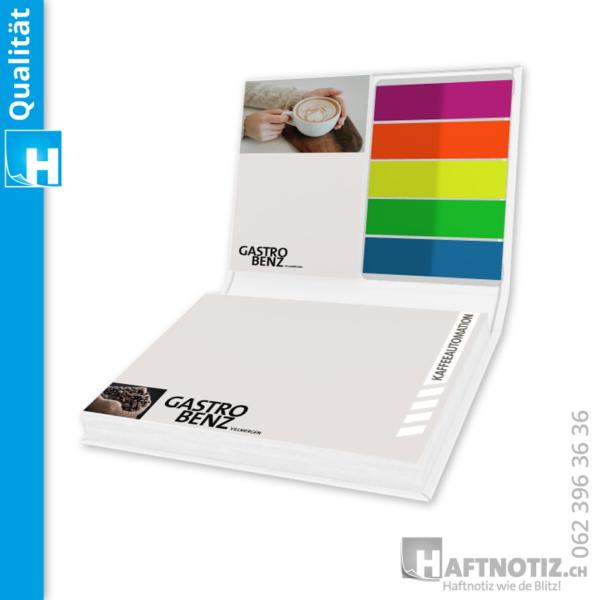 Haftnotiz Buch Druck Werbeartikel Shop bestellen Schweiz