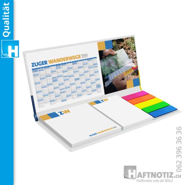 Tischkalender Haftnotizen Druck Papier Druck online bestellen Shop Schweiz Werbegeschenk