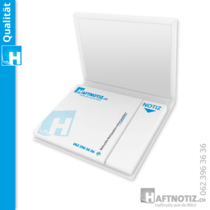 Booklets mit Haftnotizen und Druck online bestellen bei Haftnotiz.ch