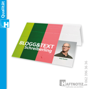 Klebezettel Haftpapier Haftnotiz post it Druck
