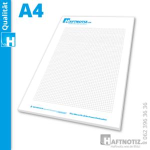 A4 Schreibblock mit Druck online bestellen in unserem Shop aus der Schweiz