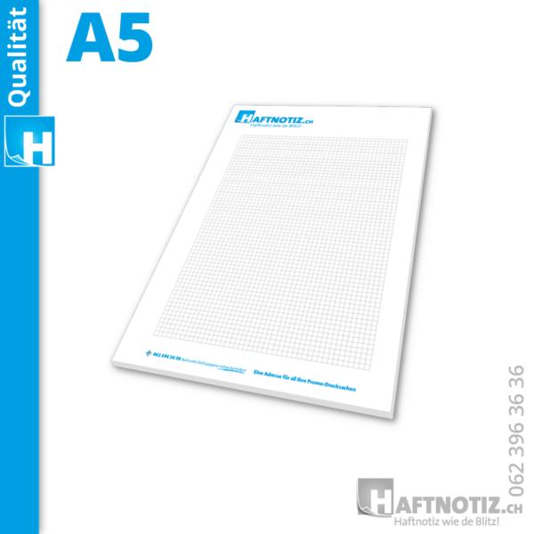 A5 Schreibblock mit Druck online bestellen in unserem Shop aus der Schweiz