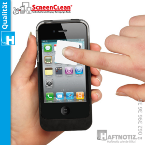 ScreenClean Reiniger für Handy Displays