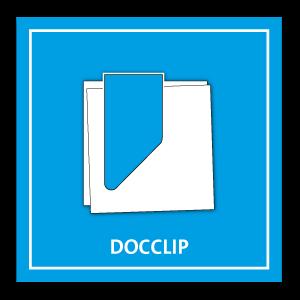 DocClip die bedruckte Büroklammer