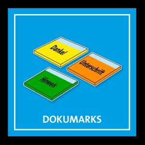 DokuMarks - Farbige Haftnotizen