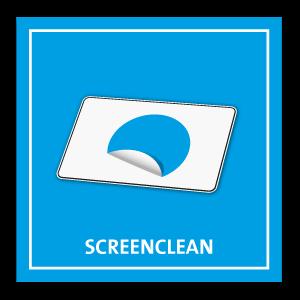 ScreenClean - Werben mit Display Reiniger
