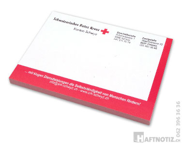 Bedruckte Haftnotiz Zettel Blöckli Postit in der Schweiz bestellen