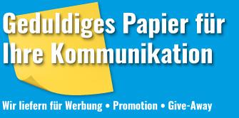 Haftnotizen für Ihre Werbung und Kommunikation von Haftnotiz.ch