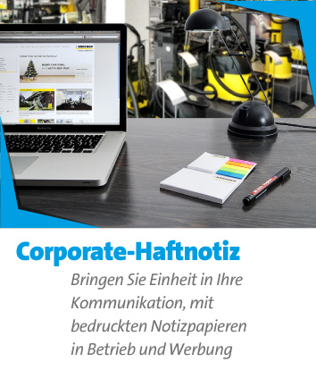 Bedruckte Notizprodukte von Haftnotiz.ch