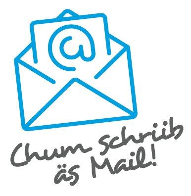 Chum schriib äs Mail